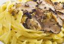 Spaghetti tartufo e acciughe