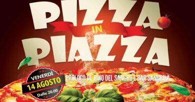 Pizza in piazza
