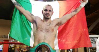 Luca Spadaccini campione nei mediomassimi.